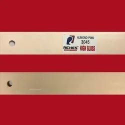 Almond Pink High Gloss Edge Band Tape