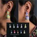 Hand Painted Earrings GSE 204