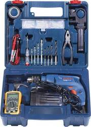 Impact Drill Electrician Power Tool Kit (80 Tools) GSB 550, 550W