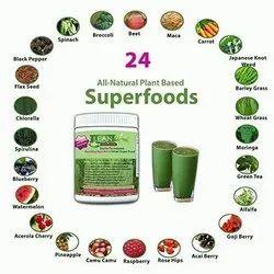 Herbal Medicines Sports Supplements Super Greens Food Supplement, Powder