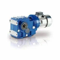 Mild Steel Motovario Helical Bevel Gear Motor