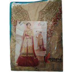 Kesani Trend Cotton Ladies Indo Western Dress Material, GSM: 100-150