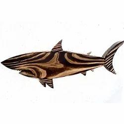 Pine Wood Shark Food Platter