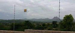 Industrial Solar Fence