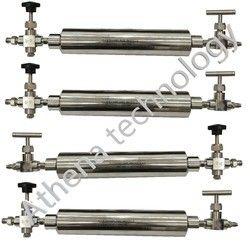 LPG Gas Sampling Cylinder