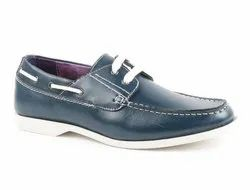 Synthetic Blue Men Casual Shoes