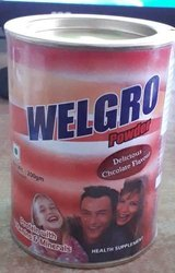 Welgro Protein Powder, Packaging Type: Cane