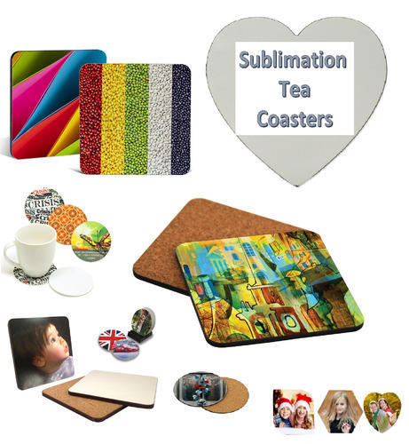 picture about Printable Coasters titled Tea Coasters Sublimation Printable