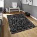 Rectangular Handloom Viscose Floor Rug