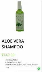 Greenish Aloe Vera Shampoo