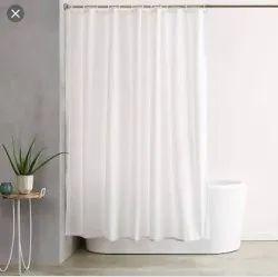 White Plain Shower Curtain