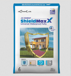White JK Cement ShieldMaxX, Packaging Type: Sack
