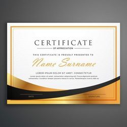 Certificate Printing With White Ink