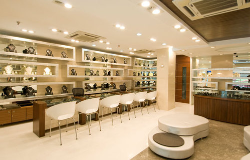 Retail Shop Interior Decoration Service