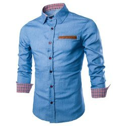 ea137e241075 Wings Knot Slim Fit Fabulous Cotton Shirt, Rs 360 /piece | ID ...