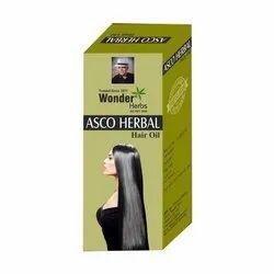 Asco Herbal Hair Oil, Pack Size: 100 mL, Packaging Type: Box