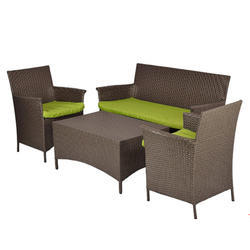 Beige Carry Bird Conference Outdoor Patio Sofa Set