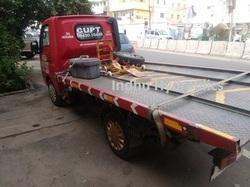 Zero Degree Flatbed Recovery Truck