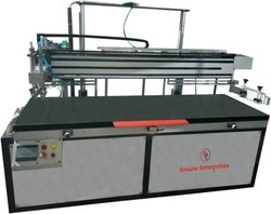 Single Color And Double Color Super Print Big Size Pneumatic Flat Screen Printing Machine