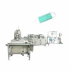 Non Woven Fully Automatic Disposable Face Mask Making Machine
