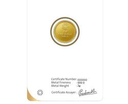 Gold Coin 2gm