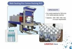 Umesh Aqua Semi Automatic Web Sealing Machine