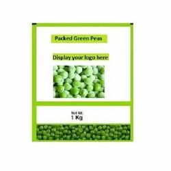 Frozen Peas Packaging Pouch