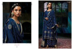 Ganga ezarh pure Silk heavy embroidery ladies suit