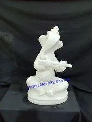 Modern Marble Ganesh Statue