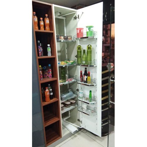 Wooden Rectangular Pull Out Kitchen Pantry Size Dimension 9 Feet Rs 12000 Piece Id 22465431873