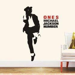 Polyvinyl Decal Michael Jackson Wall Sticker