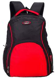 Black & Red Moscow Laptop Backpack Bag