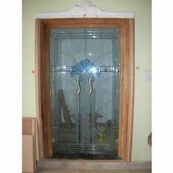 Saint Gobain Crystal Door Glass