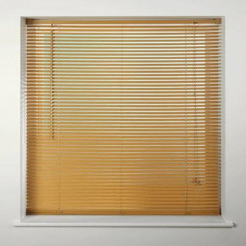 Brown 5 Feet Jute Window Blind