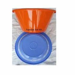 Plastic Tapered Tub