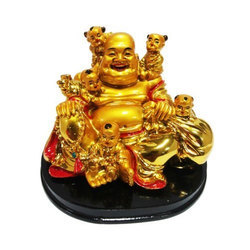 Sitting Feng Shui Laughing Buddha with Children