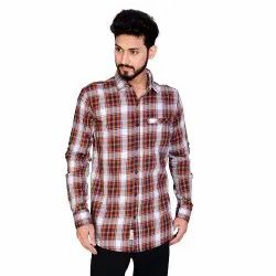 Casual Wear Aadhar Checks Shirts, Size: S To 2xl