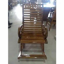 Brown Rest Wooden Chair