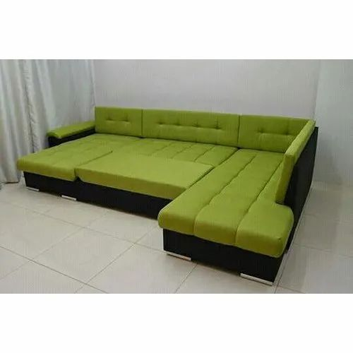 Green L Shape Sofa Cum Bed At Rs 55000/set | Convertible Sofa Bed | ID: 16987704612
