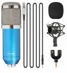 BM800 Condenser Microphone Blue