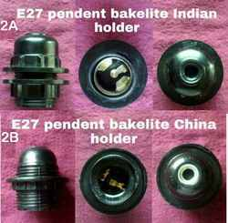 Pendant Holder Bakelite E27 2A,2B