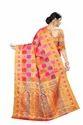 Multi Checks Patola Silk Saree
