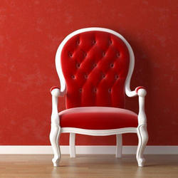 Red Cushion Chair