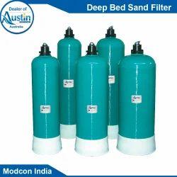 Austin Mild Steel Deep Bed Sand Filter, Vessel Height: 800-1000 Mm, 200-400 Mm