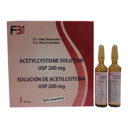 Acetylcysteine Solution USP 200 Mg