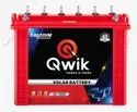 Qwik Red Tall Tubular Solar Battery 150ah, 12v, For Inverter