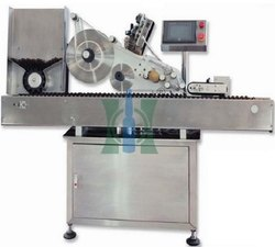 Automatic Linear Ampoule Sticker Labeling Machine