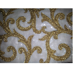 Full Sequin Embroidered Fabrics
