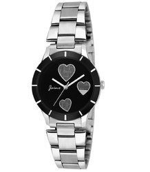 Jainx Zara Black Dial Analog Watch for Women & Girls JW556