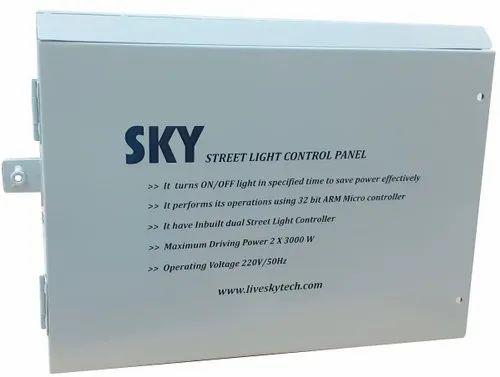 Street Light Control panel